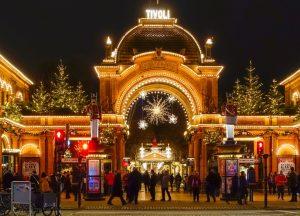 Tivoli Copenhaguen Christmas Market