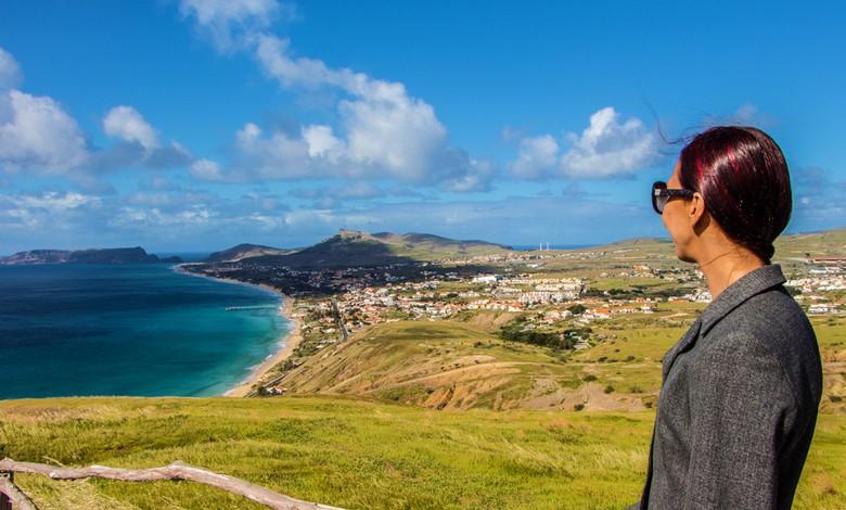 Portela Viewpoint in Porto Santo, Madeira