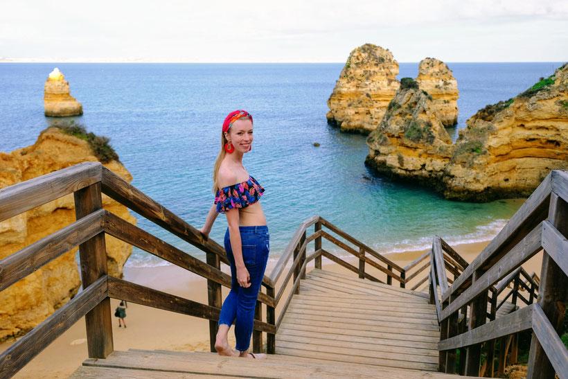 Beach in Faro, Algarve
