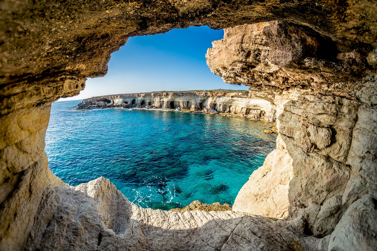 Sea caves, Ayia Napa