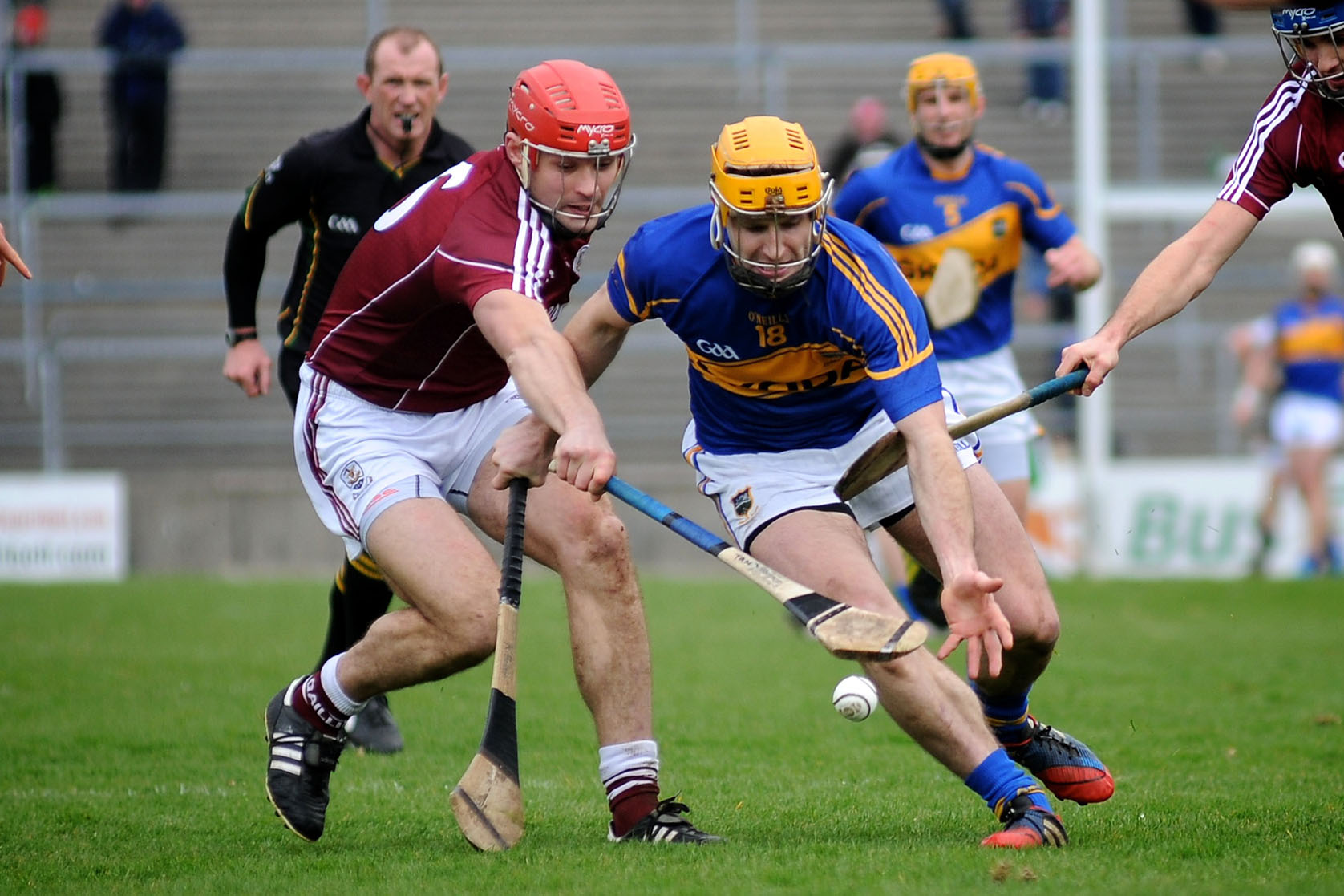 Hurling match in Ireland