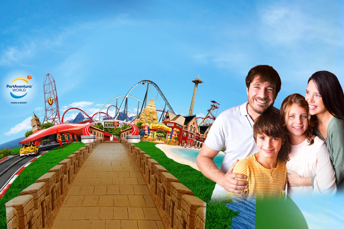 Live the Port Aventura World experience and feel the adrenaline!