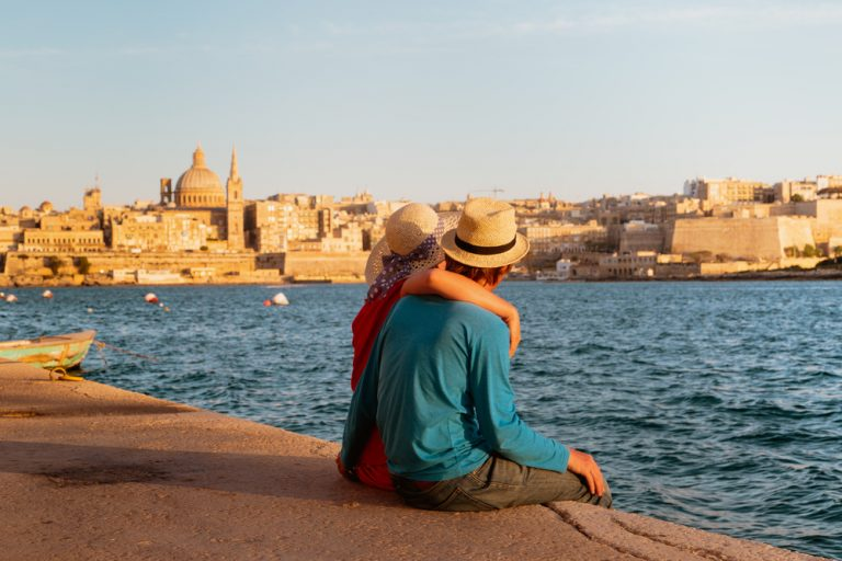 A couple on holidays to Malta in September